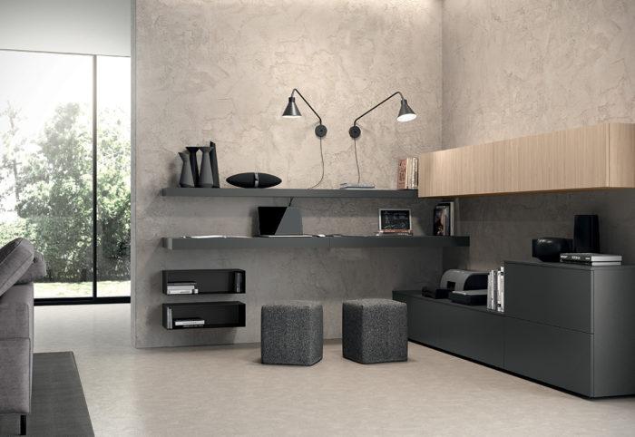 mobili per soggiorno smart working