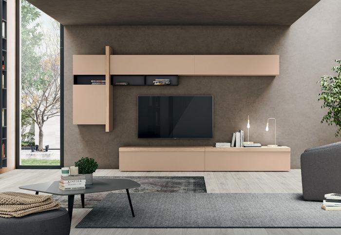 composizione tipo soggiorno stile italiano