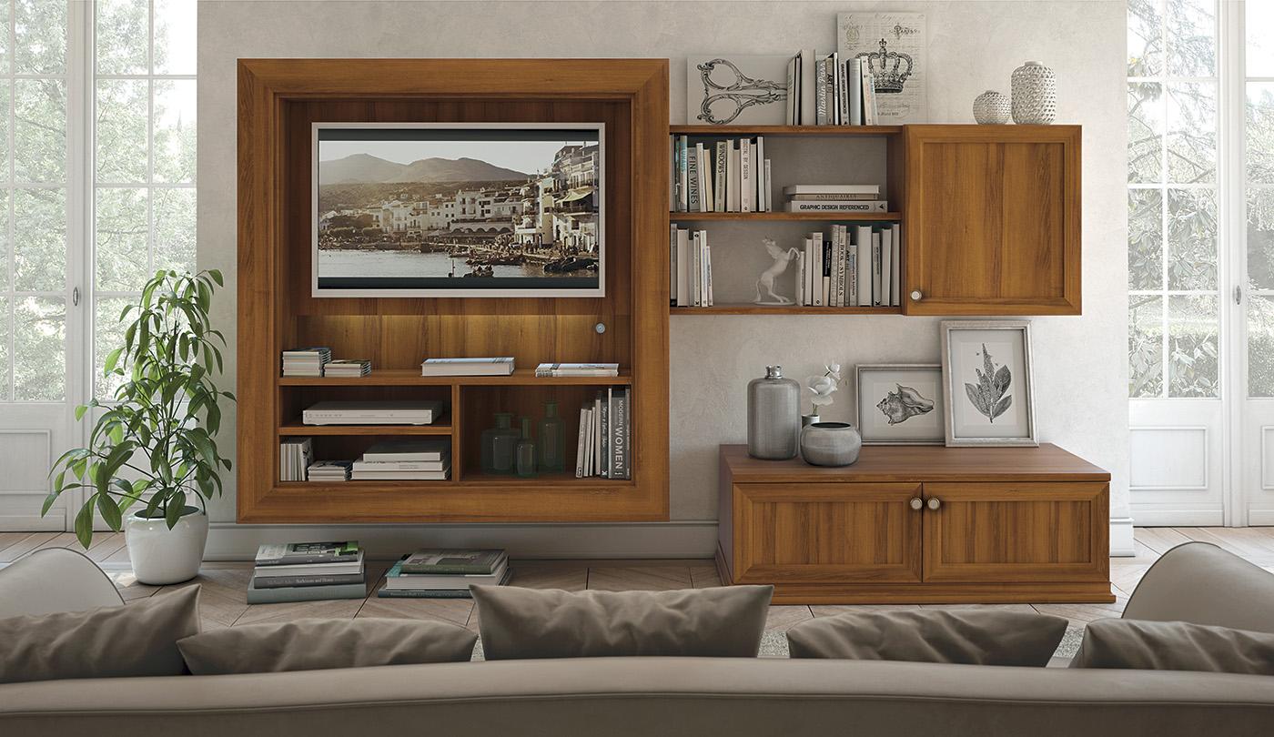 Arcadia Mobili Per Soggiorno In Stile Classico
